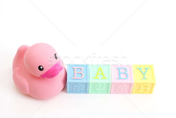 Babies Rubber Duck Stock photo © AlphaBaby