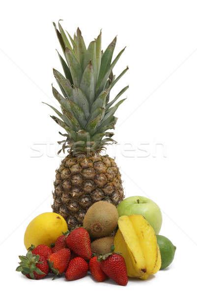 Meyve gıda yaz yeşil Stok fotoğraf © AlphaBaby