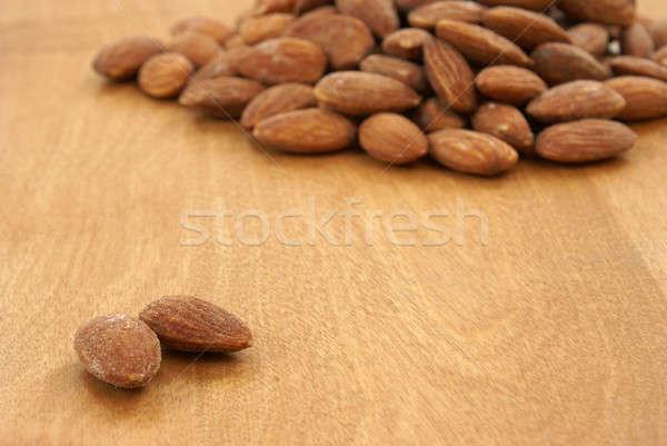 Almonds Stock photo © AlphaBaby