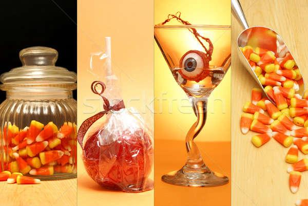 Haloween Collage Stock photo © AlphaBaby