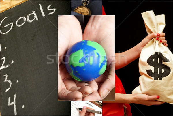 Business Collage Stock photo © AlphaBaby