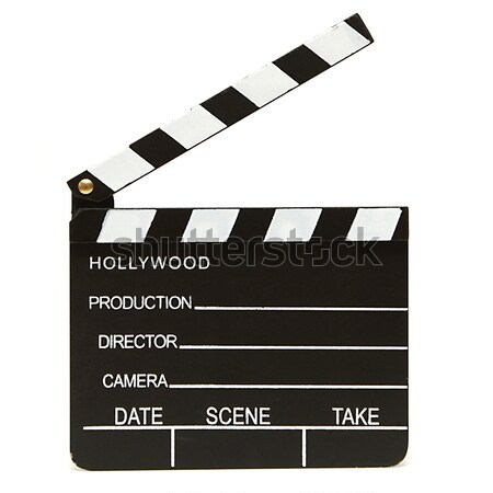 Isolato shot hollywood film produzione televisione Foto d'archivio © AlphaBaby