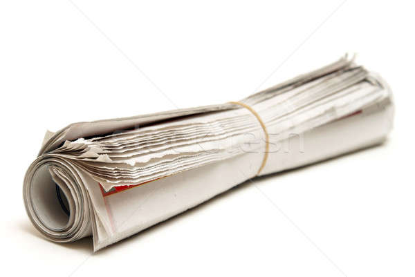 Rolled Newspaper Stock photo © AlphaBaby