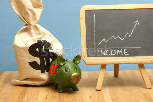Income Increase Chart Stock photo © AlphaBaby
