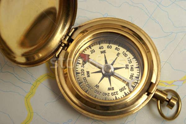 Navigational Compass Stock photo © AlphaBaby