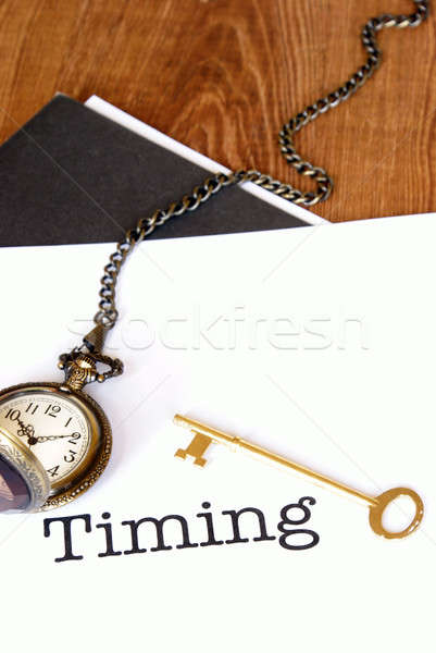 Timing Is Everything Stock photo © AlphaBaby