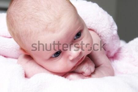 Giovani innocente nuovo nato età uno Foto d'archivio © AlphaBaby