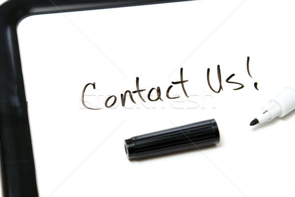 Contact Us Stock photo © AlphaBaby