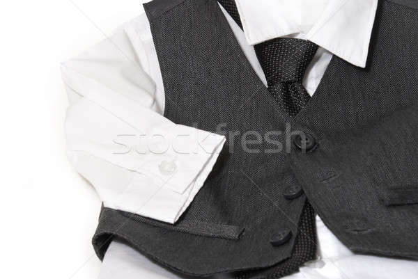 Robe shirt gilet sur parents Photo stock © AlphaBaby