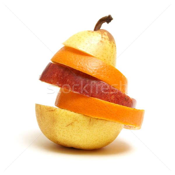 Vruchten arrangement variëteit uniek peer Stockfoto © AlphaBaby