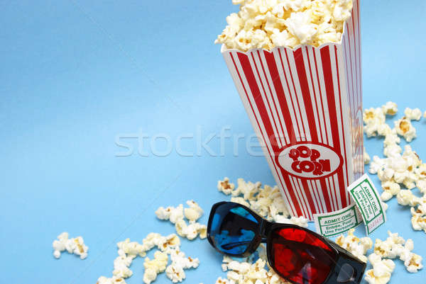 3D Movie Entertainment Stock photo © AlphaBaby