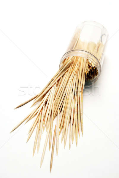 Spilled Toothpicks Stock photo © AlphaBaby