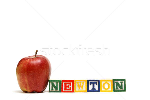 Newtons Law Stock photo © AlphaBaby
