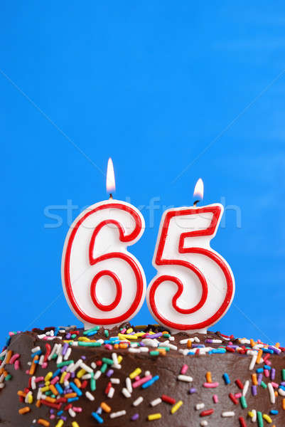 Celebrating Sixty Five Years Stock photo © AlphaBaby