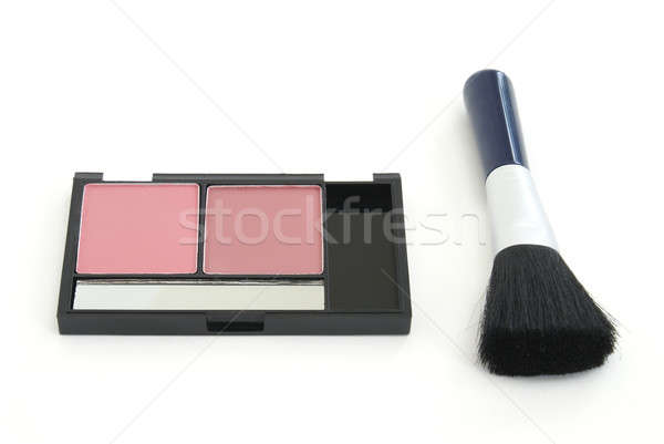 Blush Makeup with Brush Stock photo © AlphaBaby