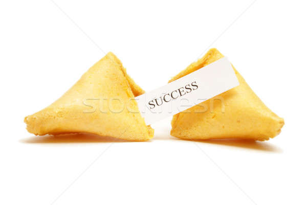 Fortune Cookie of Success Stock photo © AlphaBaby