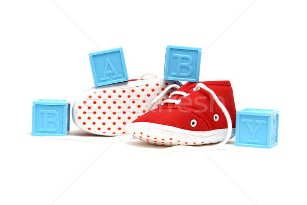 Baby Shoes Stock photo © AlphaBaby