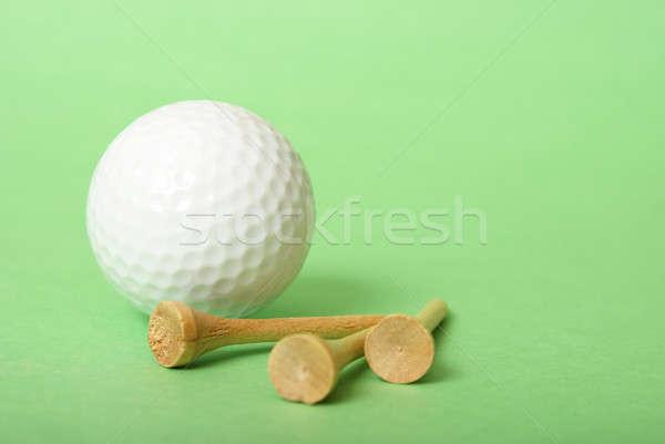 мяч для гольфа зеленый комплимент спорт текстуры мяча Сток-фото © AlphaBaby
