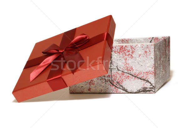 Red Gift Box Stock photo © AlphaBaby