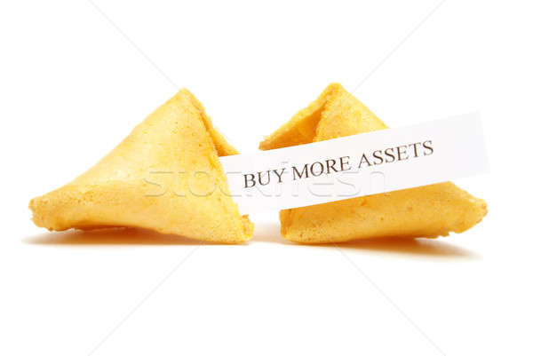 Fortune Cookie of Assets Stock photo © AlphaBaby