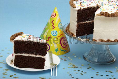 Chocolate Cake Stock photo © AlphaBaby