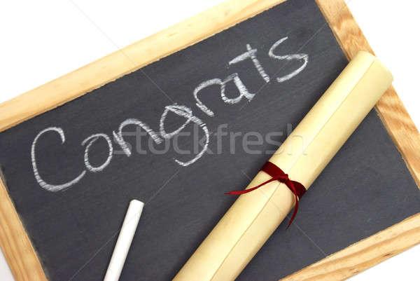 Congrats Graduates Stock photo © AlphaBaby