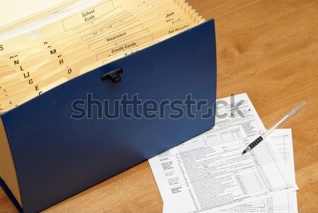 Tax Time Stock photo © AlphaBaby