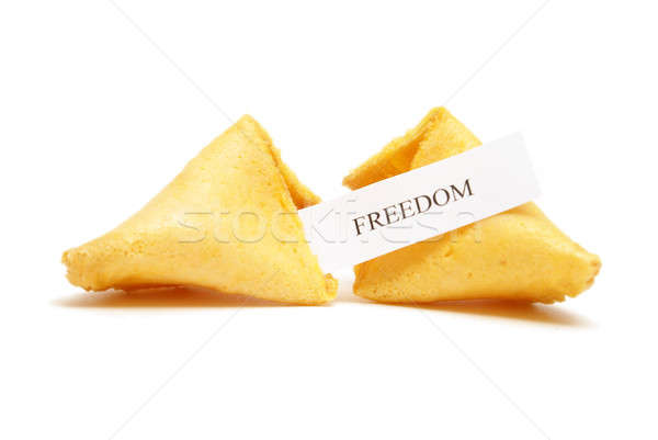 Fortune Cookie of Freedom Stock photo © AlphaBaby