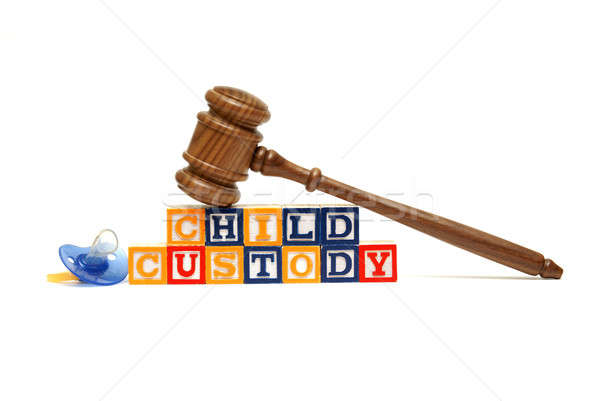 Child Custody Stock photo © AlphaBaby