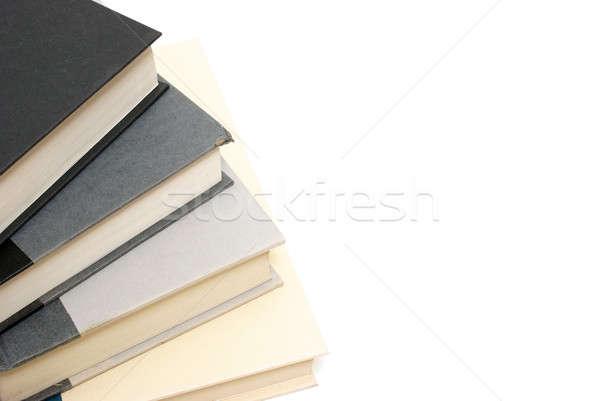Stok fotoğraf: Kitaplar · entellektüel · yalıtılmış · beyaz