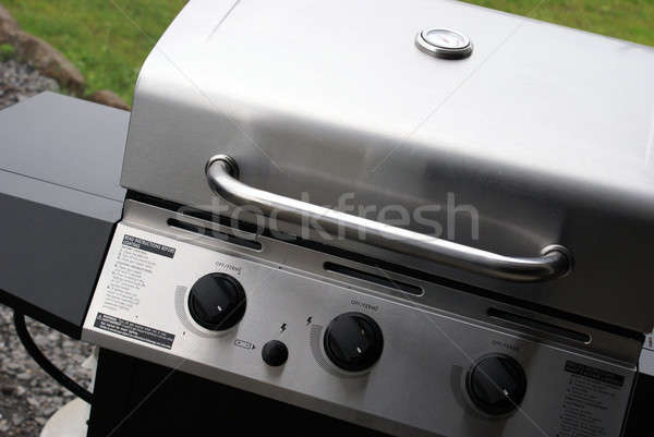 Stainless Steel Barbeque Stock photo © AlphaBaby