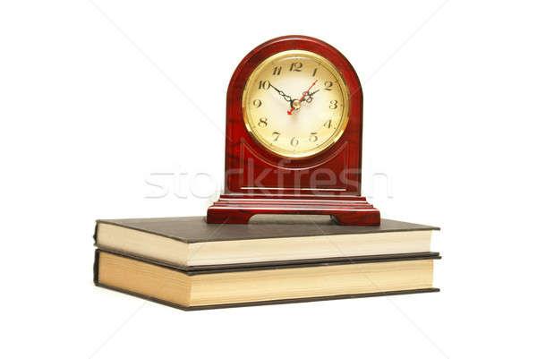 чтение время изолированный выстрел часы Сток-фото © AlphaBaby