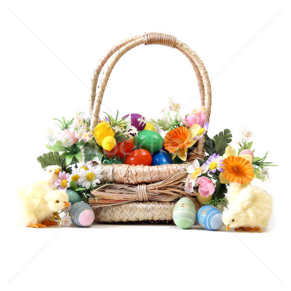 Easter Basket Stock photo © AlphaBaby