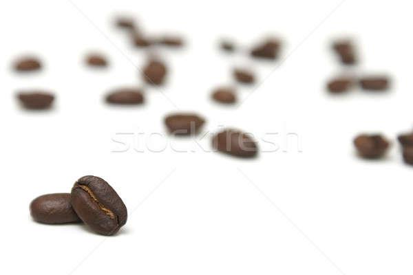 кофе два многие расплывчатый из кофе Сток-фото © AlphaBaby
