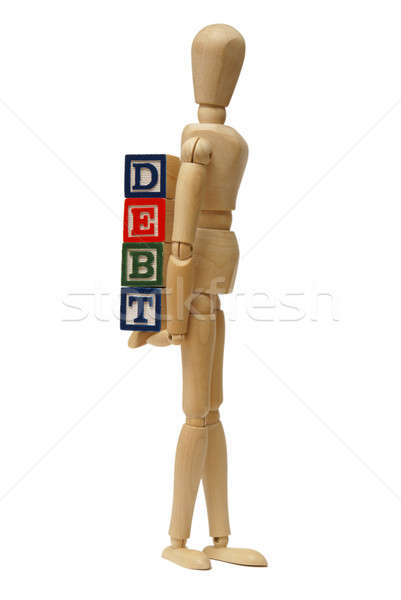 Carrying Your Debts Stock photo © AlphaBaby