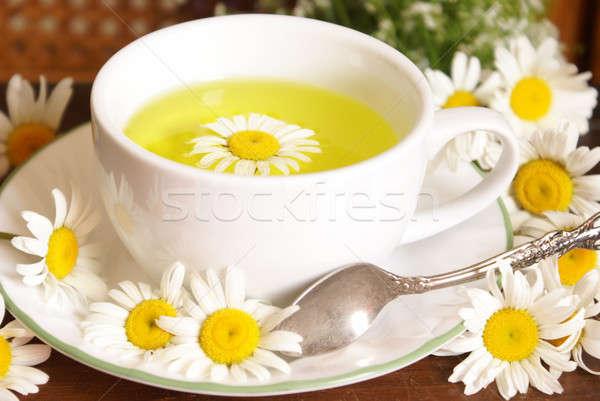 Chamomile Tea Closeup Stock photo © AlphaBaby