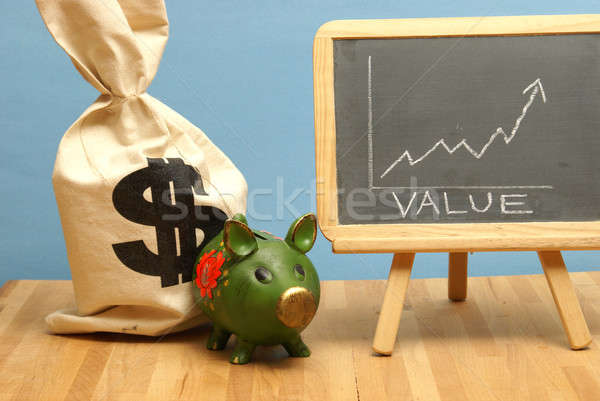 Value Increase Stock photo © AlphaBaby