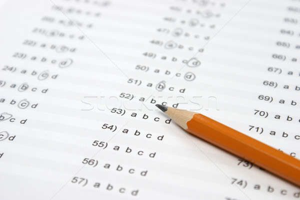 Multiple Choice Answers Stock photo © AlphaBaby