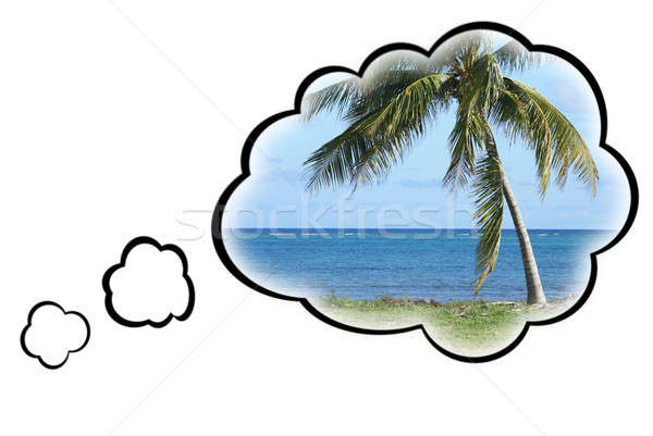 Dream Vacation Concept Stock photo © AlphaBaby