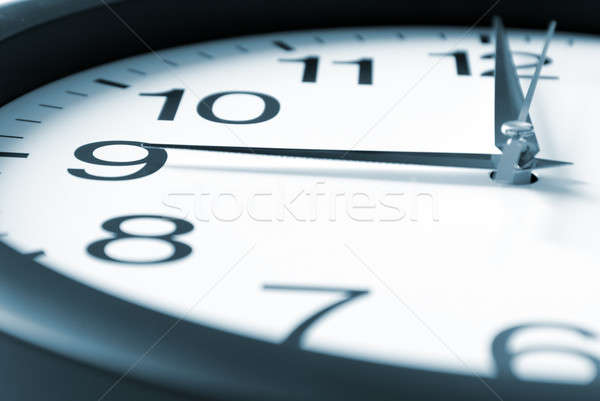 Nine Oclock Stock photo © AlphaBaby