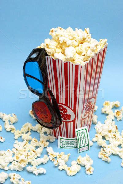 3D Movie Entertainment Stock photo © AlphaBaby