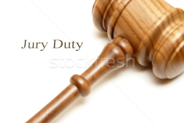 Jury Duty Stock photo © AlphaBaby
