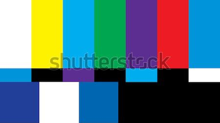 Aria televisione schermo broadcasting Foto d'archivio © AlphaBaby