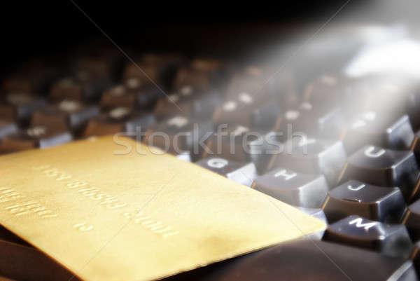 Ecommerce handel kopen macht digitale voordeel Stockfoto © AlphaBaby