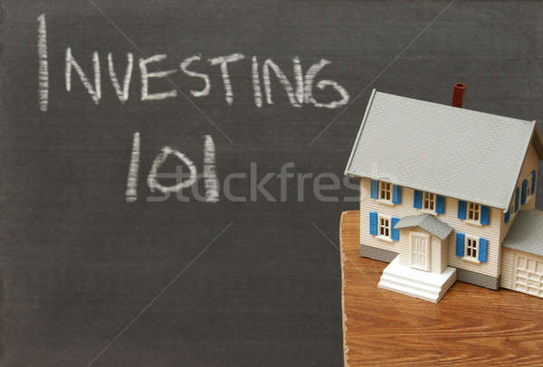 101 Bild Investments Immobilien Business Stock foto © AlphaBaby