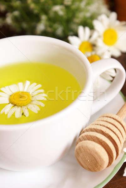 Chamomile Tea And Honey Stock photo © AlphaBaby