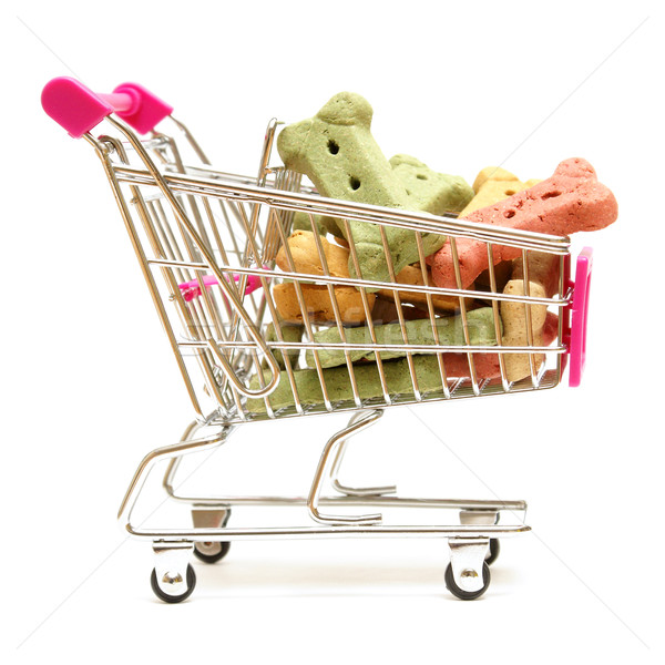 Dog Treat Shopping Stock photo © AlphaBaby