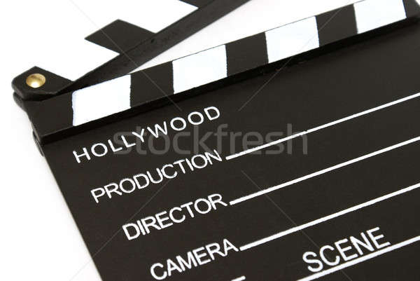 Clapboard Stock photo © AlphaBaby