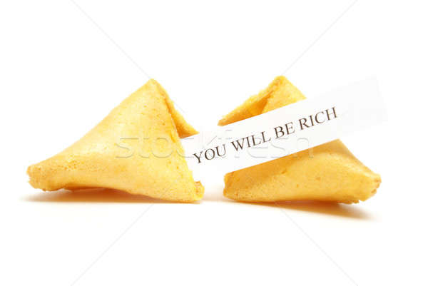 Fortune Cookie of Riches Stock photo © AlphaBaby