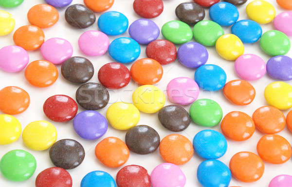 Coated Candy Background Stock photo © AlphaBaby